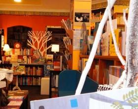 """La libreria """"Foglie d'oro"""" di Pesaro"""
