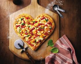 pizza che passione, la pizza degli innamorati