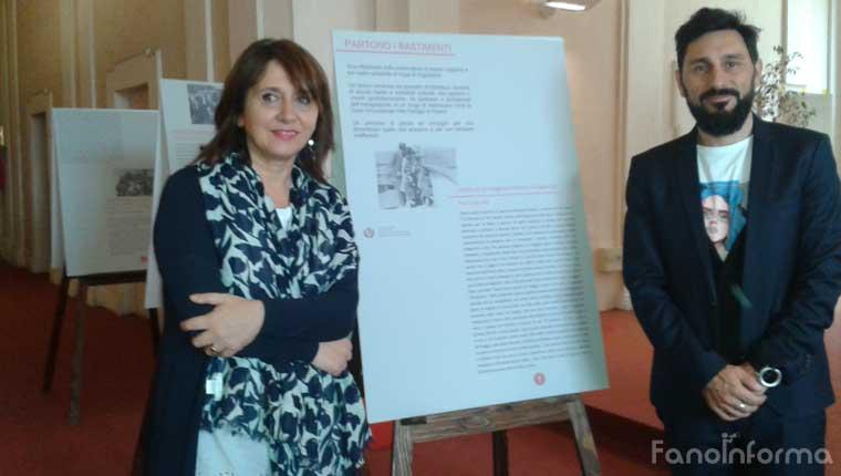 """L'inaugurazione della mostra """"Partono i Bastimenti"""" all'interno del Comune di Fano"""