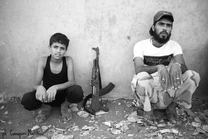 Immagine dalla Siria di Matthias Canapini