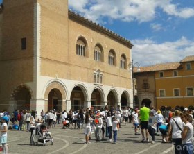 il Trofeo Dino Ambrosini in piazza XX Settembre a Fano