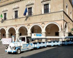 il trenino turistico di Pesaro
