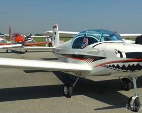 Un aereo dei piloti del Fly Fano Club