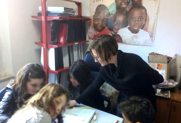 Il dopo scuola de L'Africa Chiama