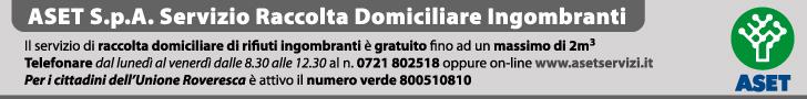 Aset spa - Servizio Raccolta Domiciliare Ingombranti