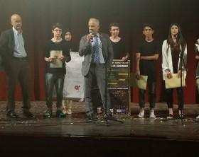 Gli studenti del Battisti premiati