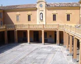 il cortile del Sant'Arcangelo di Fano