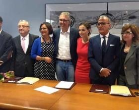 La giunta della Regione Marche guidata dal governatore Luca Ceriscioli
