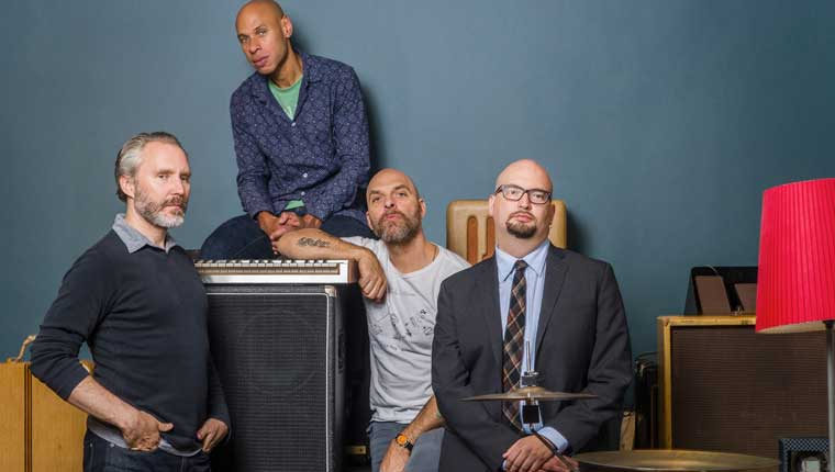 "I ""Bad Plus- Joshua Redman"" (foto David Jacobs) ospiti del Fano Jazz by the Sea"