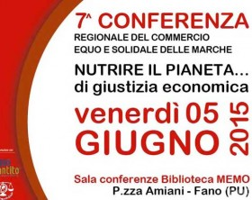 La 7^ conferenza Regionale del Commercio equo e solidale a Fano
