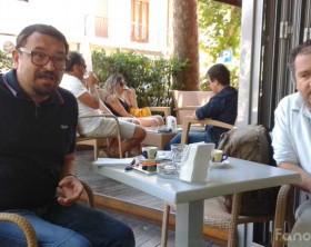 Giorgio Santelli e Giovanni Belfiori, del Passaggi Festival di Fano
