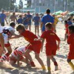 Il torneo Beach Rugby di Pesaro