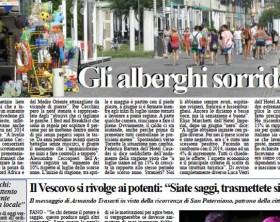 L'edizione di oggi, mercoledì 8 luglio, del quotidiano Fanoinforma con le notizie della città di Fano