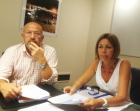 Gianluca Cespusglio e Susanna testa