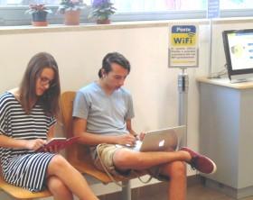 Il Wifi dentro le Poste di Fano