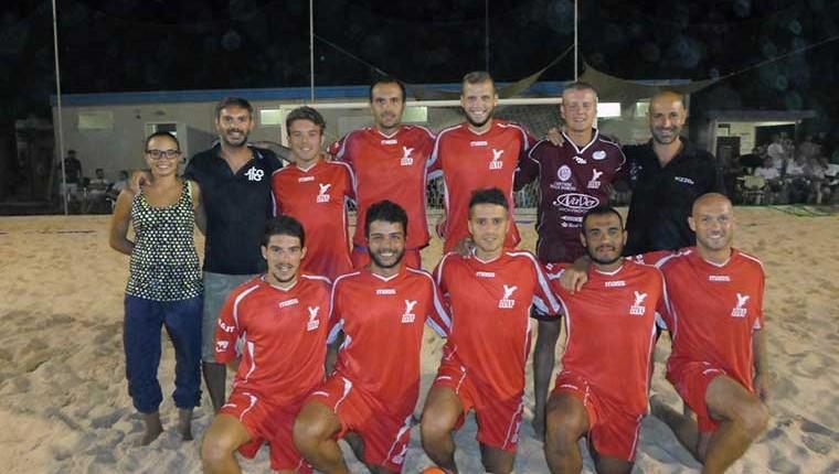 L'Alma Juventus Fano di beach soccer