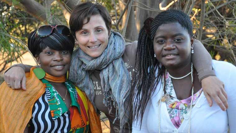 Anita Manti, vicepresidente dell'associazione L'Africa Chiama di Fano