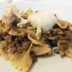 """La """"Pasta con lenticchie al sapore dell'adriatico profumate alla birra"""" proposta dal vincitore di Chef in the City 2013 Antonino Palella"""