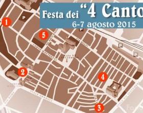 La Festa dei 4 Cantoni a Fano