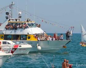 Una precedente edizione della Festa del Mare di Fano