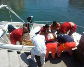 il salvataggio avvenuto a Pesaro