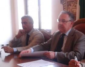 il prefetto Luigi Pezzi e il questore Antonio Lauriola