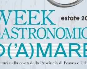 Weekend gastronomici d'(a)mare a Pesaro e Urbino con la Confcommercio