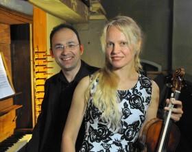 Lina Uinskite e Marco Ruggeri, il duo dei Concerti d'Organo a Fano
