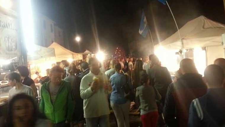 """La manifestazione """"Birra d'Augusto"""" a Fano, zona Pincio"""