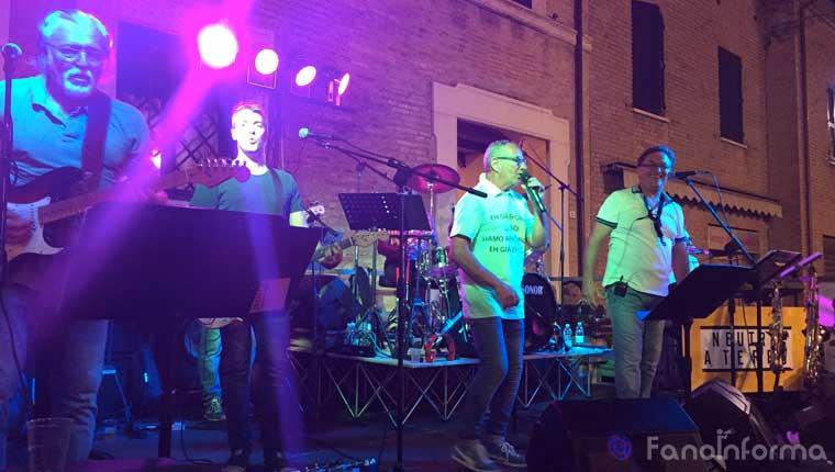 I neutro a terra si esibiscono alla Festa di Borgo Cavour di Fano