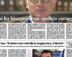 L'edizione di oggi del quotidiano Fanoinforma con le notizie di giovedì 27 agosto della città di Fano