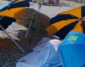 il copro del turista 77enne deceduto questa mattina a Marotta