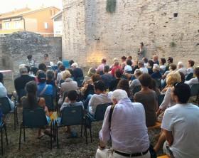 La presentazione di un libro al Bastione Sangallo di fano