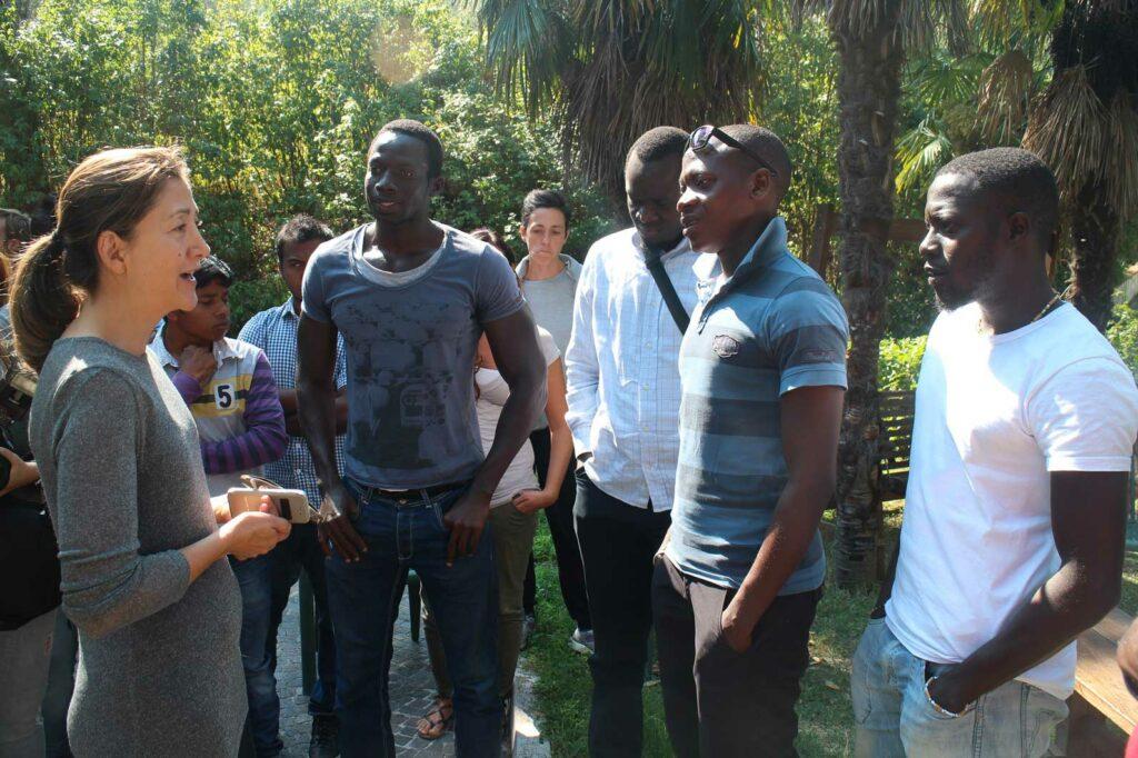 Ingrid Betancourt in visita a Pesaro