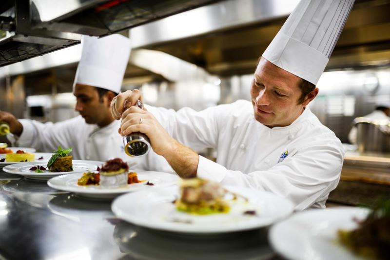 Cuoco di bordo