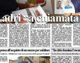 l'edizione di oggi, giovedì 3 settembre, del quotidiano Fanoinforma con le notizie della città di Fano