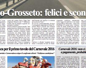 L'edizione di giovedì 10 settembre 2015 del quotidiano Fanoinforma con le notizie della città di Fano