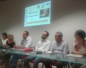 """La presentazione del servizio """"Biblioteca in Ospedale"""" presente nel presidio di Pesaro e Fano"""
