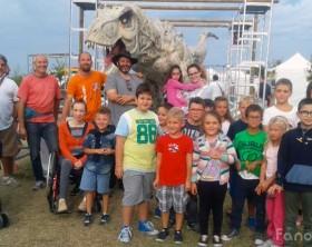 La Città dei Dinosauri all'aeroporto di Fano