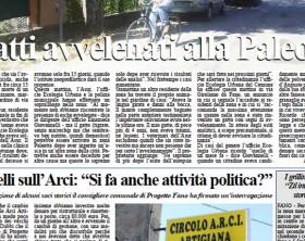 L'edizione del 7 settembre 2015 del quotidiano Fanoinforma con le notizie della città di Fano