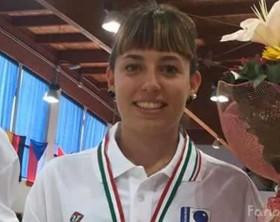 Flavia Morelli 16 anni di Lucrezia può esultare, è lei la nuova campionessa italiana Under 18 di Bocce in rappresentanza della Bocciofila Lucrezia