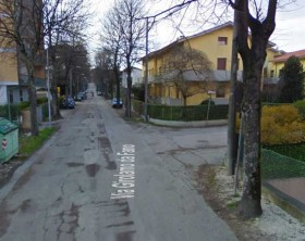 Via Girolamo da Fano - Foto trata da Gooogle Maps