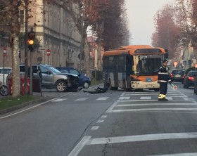 Incidente in viale Gramsci