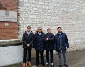 delegazione al carcere di Fossombrone