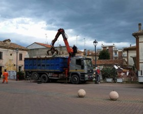 Cantiere piazza Kennedy
