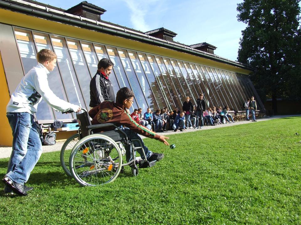 Attività sportiva con disabili