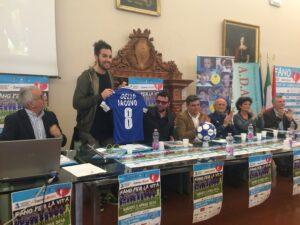 Antonio Maggio presenta la maglia di Chiara Dello Iacovo