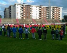 Fano Rugby prove allo stadio Mancini