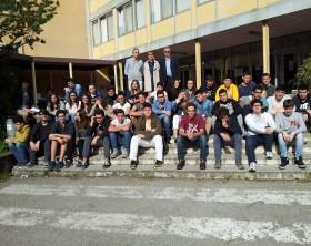 """Gli studenti del progetto """"Un bosco per la città"""""""