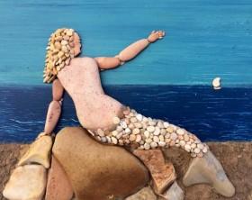 Un'opera dell'artista Stefano Furlani